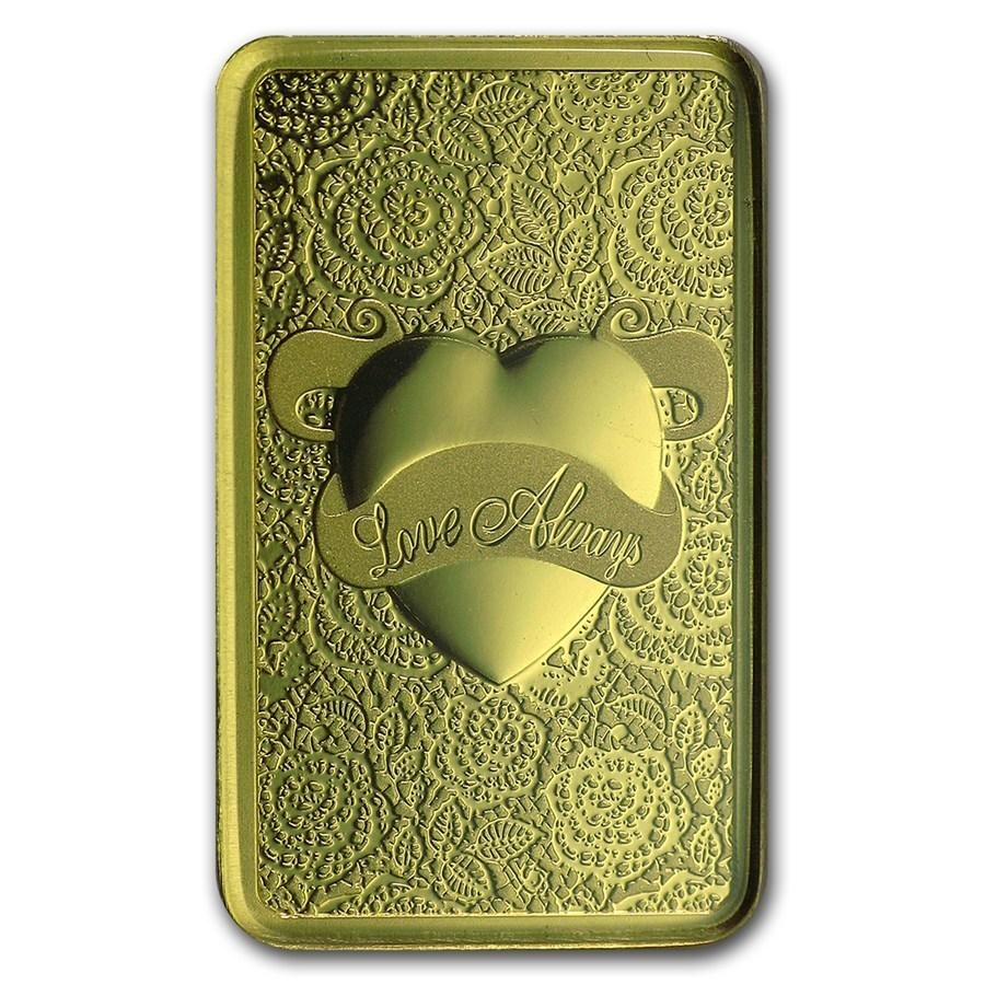 Pamp Suisse 10 Gramm Goldbarren Love Always