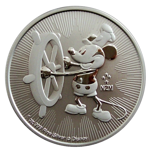 Niue Island - Steamboat Willie 2017 - 1oz Ag *