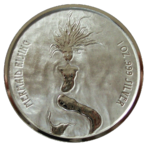 Mermaid Rising 2018 - 1oz Ag - PL*