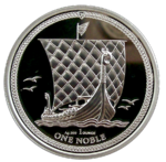 Noble - PU - 1oz Silber 2018 - Isle of Man *