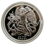 Angel - PU - 1oz Silber 2018 - Isle of Man *