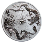 Dragon & Dragon 2019 - 1oz Ag *