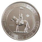 Mounted Police 2oz Ag 2020 *