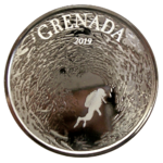 Grenada 2019 - Diving Paradise - prooflike - 1oz Ag *