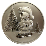 Niue Island - Mickey Mouse 2019 - Christmas - 1oz Ag *