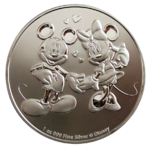 Niue Island - Mickey + Minnie 2020 - 1oz Ag *