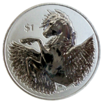 Pegasus 2020 - Reverse Frosted Cameo - 1oz Ag *