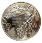 Korean Phoenix 2020 - 1oz Ag
