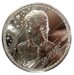 David Bowie - Musiklegenden - 1oz Ag 2021 *